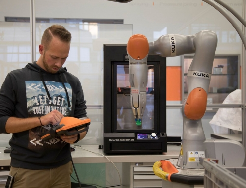 KUKA Builds the Future of Manufacturing with MakerBot 3D Printers